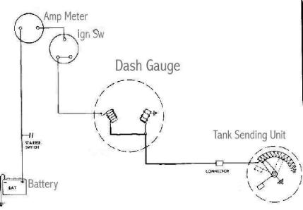 Wgasgauge fuel 12v fuel gauge wiring diagram at panicattacktreatment.co